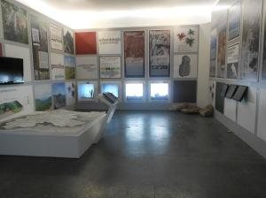 Visatas del centro de interpretación del Geo parque.