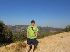 Vista desde el alto de la sierra de las Villuercas.
