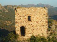 Vista de lo que queda de la edificación del Castillo