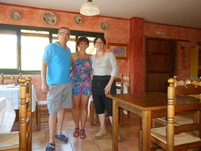 Visitando la comarca de las Villuercas y las Ibores.