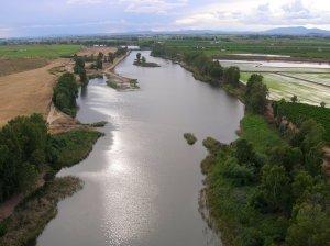 Río Guadiana a su paso por Villanueva de la Serena