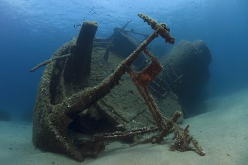 Como un barco hundido.