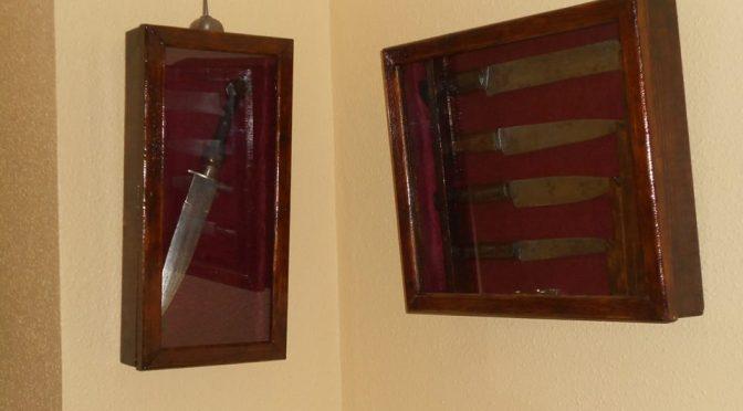 Daga y Juego de cuchillos para matanza.
