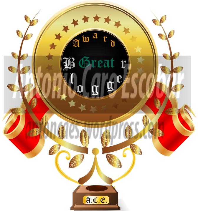 Nominados al premio Award Great Blogger