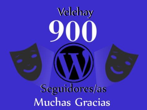 900 seguidores