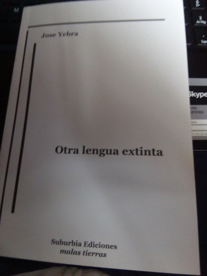 "Reseña.                                                         ""Otra lengua extinta""."