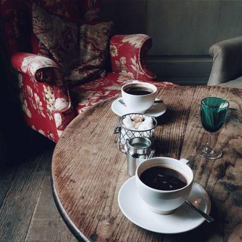 Café, te y azucar.