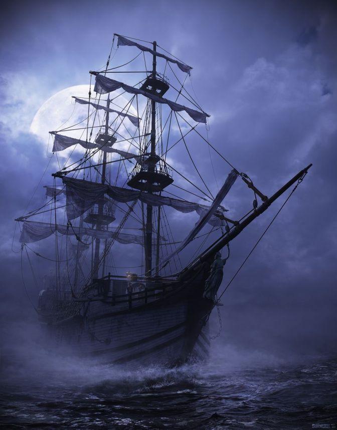 En el barco de los piratas