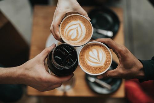 #Caféconlos amigos
