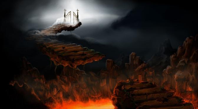 Bajando al infierno